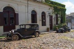 автомобили старые Стоковое Фото