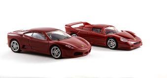 Автомобили Феррари игрушки Стоковое Изображение