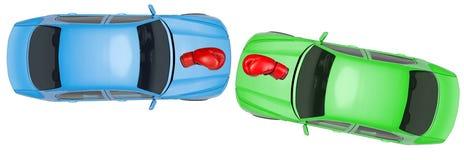 автомобили цветастые Стоковые Изображения RF