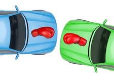 автомобили цветастые Стоковое Изображение RF