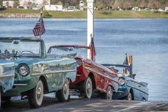 Автомобили шлюпки Стоковое Фото