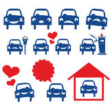 Автомобили Стоковое Фото