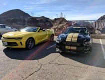 Автомобили Hoover Damm Стоковые Изображения RF