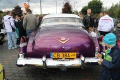 Автомобили Myslowice Польша 2015r ралли VI Стоковое фото RF