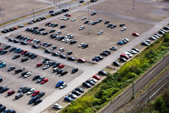 Автомобили Parkes Стоковое Изображение RF