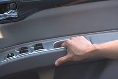 Автомобильная дверь отверстия руки Стоковое Фото