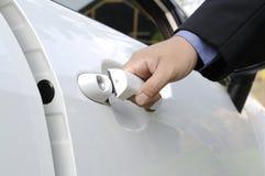Автомобильная дверь отверстия Стоковое фото RF