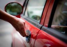 Автомобильная дверь отверстия Стоковое Изображение
