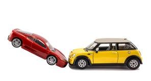 Автомобильная катастрофа стоковое фото rf