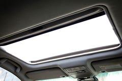 Автомобильная крыша с окошком Стоковые Фотографии RF