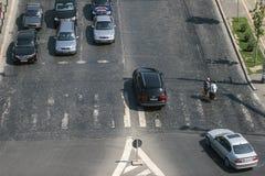 Автомобильное движение Стоковая Фотография RF