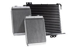 Автомобильные охлаждая радиаторы Стоковые Изображения RF