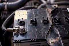 Автомобильный аккумулятор Стоковая Фотография