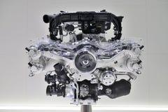 Автомобильный двигатель Стоковое Изображение
