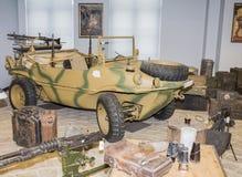 Автомобильный земноводный тип 166 Фольксвагена Германия, (1941-1944) Стоковые Изображения RF