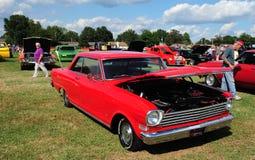 Автомобиль 1964 антиквариата спорта Новы Chevy супер стоковые изображения rf