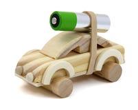 Автомобиль батареи электрический Стоковые Изображения