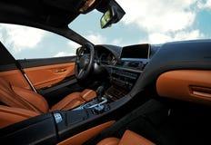 автомобиль внутрь Стоковые Изображения RF