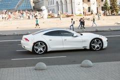 Автомобиль в движении Стоковая Фотография RF
