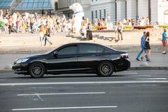Автомобиль в движении Стоковое Изображение RF