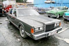 Автомобиль городка Линкольна Стоковое фото RF