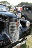 Автомобиль гриля классический американский Стоковое Фото