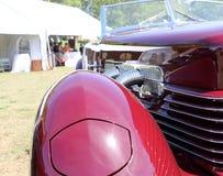Автомобиль детали классический американский Стоковая Фотография RF