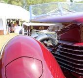 Автомобиль детали классический американский Стоковые Фото