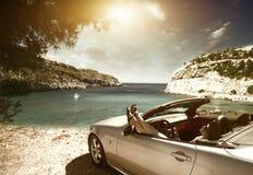 Автомобиль; женщины; Стоковые Изображения RF