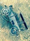 Автомобиль железного века Стоковое Изображение RF