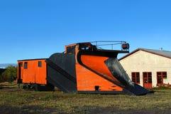 C & плужок снежка железной дороги h Стоковые Фото