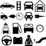 Автомобиль значка бесплатная иллюстрация