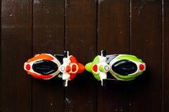 Автомобиль 2 игрушек сделал ‹â€ ‹â€ керамического Стоковые Фото