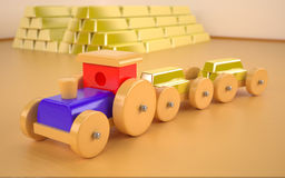 Автомобиль игрушки Стоковое фото RF