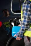 Автомобиль из топлива Стоковое Изображение