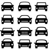 Автомобиль и автомобиль Стоковое Изображение