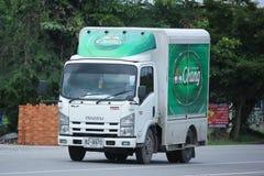 Автомобиль контейнера TBL для контейнера пива Стоковые Фотографии RF