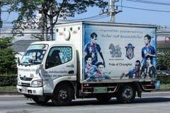 Автомобиль контейнера TBL для контейнера пива Стоковые Фото