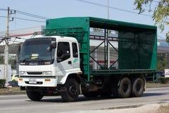 Автомобиль контейнера TBL для контейнера пива Стоковое Изображение RF