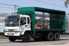 Автомобиль контейнера TBL для контейнера пива Стоковые Изображения RF