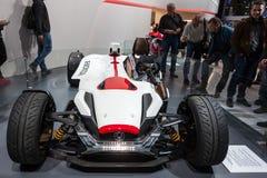 Автомобиль концепции проекта 2 и 4 Honda на IAA 2015 стоковое изображение