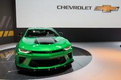 Автомобиль концепции следа Chevrolet Camaro Стоковое Фото