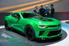 Автомобиль концепции следа Chevrolet Camaro Стоковые Фотографии RF