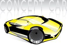 Автомобиль концепции иллюстрация штока