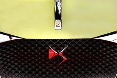 Автомобиль концепции DS e напряженный роскошный Стоковое Изображение RF