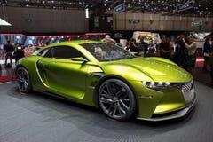 Автомобиль концепции GT E-времени Citroen DS Стоковое Изображение