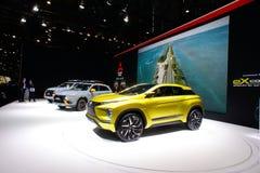 Автомобиль концепции Mazda электрический SUV Стоковое Изображение