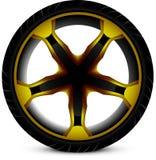 Автомобиль колеса Стоковое Изображение