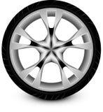 Автомобиль колеса Стоковое фото RF