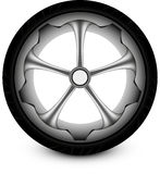 Автомобиль колеса Стоковая Фотография RF